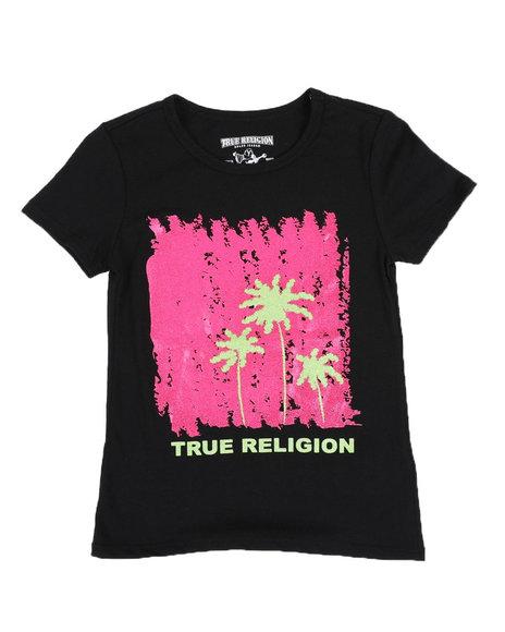 True Religion - Artsy Palm Tee (7-16)