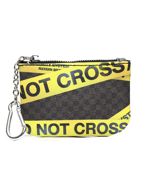 Reason - Do Not Cross Coin Pouch (Unisex)