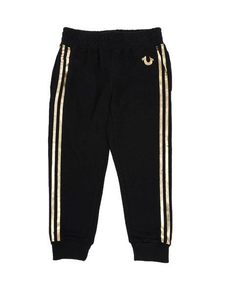 True Religion - Athletic Striped Sweatpants (4-6X)