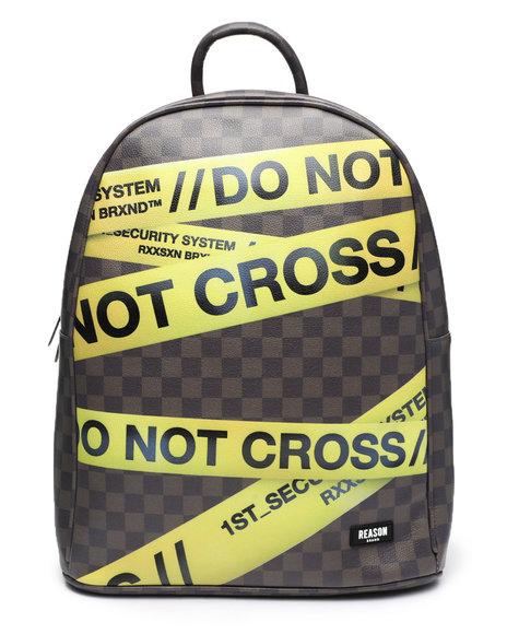 Reason - Do Not Cross Backpack (Unisex)
