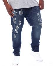 Jeans - Stretch Jean W/Tone On Tone Repair (B&T)-2516773