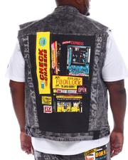 Born Fly - Exchange Denim Vest (B&T)-2521948