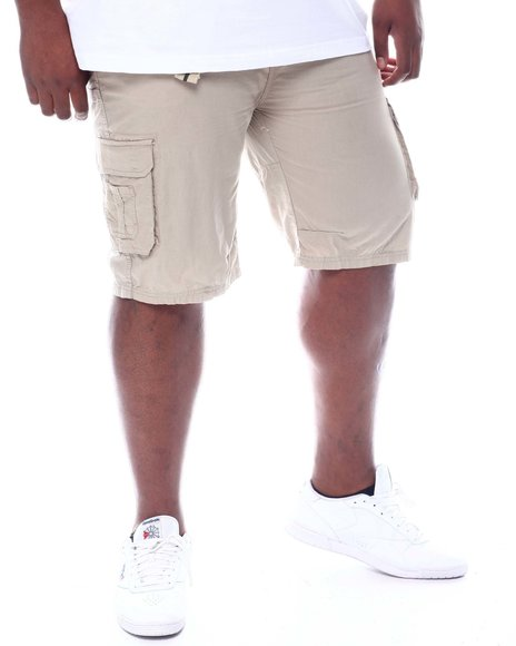 Buyers Picks - Belted Washed Twill Cargo Shorts (B&T)