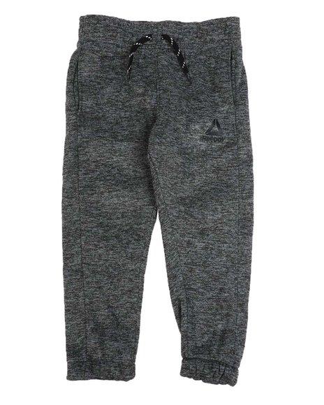 Reebok - Brushed Fleece Jogger Pants (4-7)