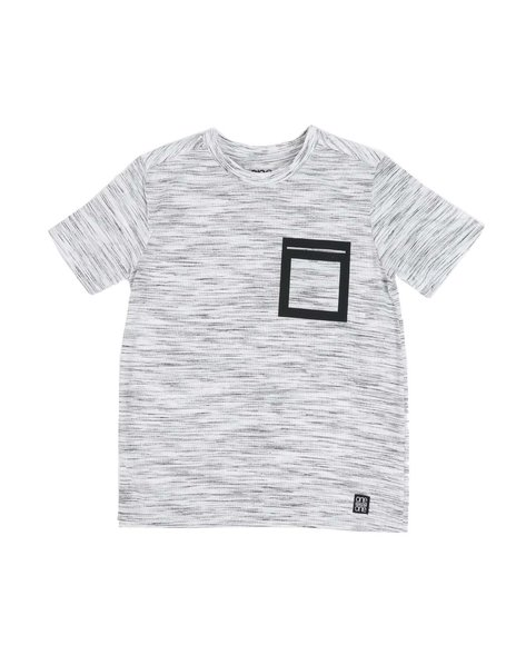 Arcade Styles - Yarn Dyed Injected Crew Neck Jersey Tee (8-18)