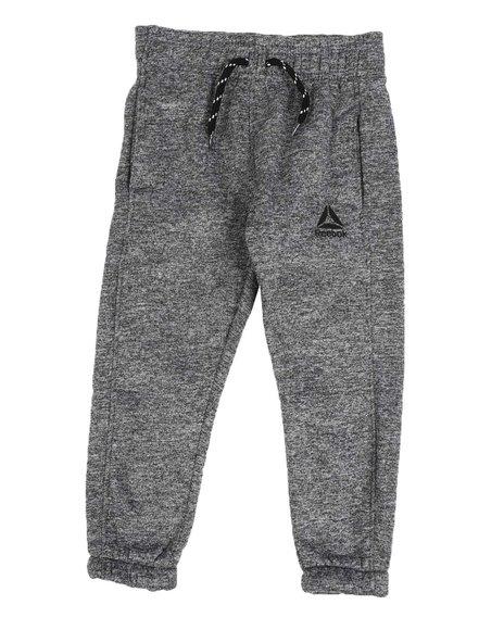 Reebok - Cationic Brushed Fleece Jogger Pants (4-7)