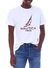Nautica - SS Nautica Sailing Flag Tee-2528508