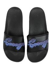 Footwear - Neon Savage Slides-2527078