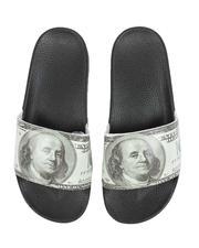 Sandals - $100 Benjamin Slides-2527438