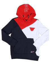 Reebok - Color Block Cozy Fleece Hoodie (8-20)-2525511