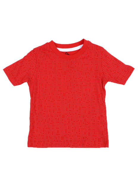 Arcade Styles - Allover Printed Crew Neck Jersey Tee (2T-4T)