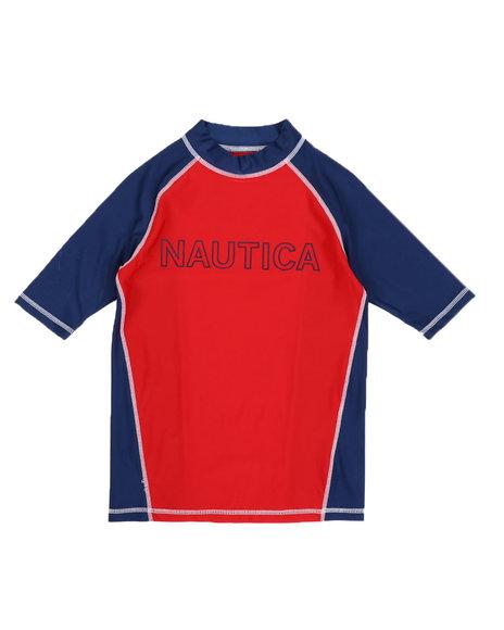 Nautica - Raglan Swim Shirt (8-20)
