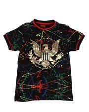 Boys - Eagle Paint Splatter T-Shirt (8-20)-2527461
