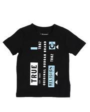 Tops - Mixed Logo Tee (4-7)-2527511