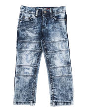 Arcade Styles - Washed Moto Jeans (2T-4T)-2529029