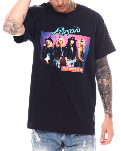 Buyers Picks - Poison Talk Dirty to Me Concert Tee