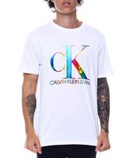 Calvin Klein - SS Monogram Pride Crewneck Tee-2529403