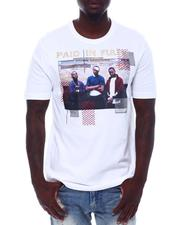 deKryptic - Paid in Full Crew Embellished Tee-2528200