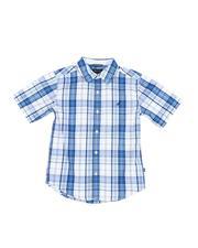 Nautica - Plaid Button Down Shirt (8-20)-2527521