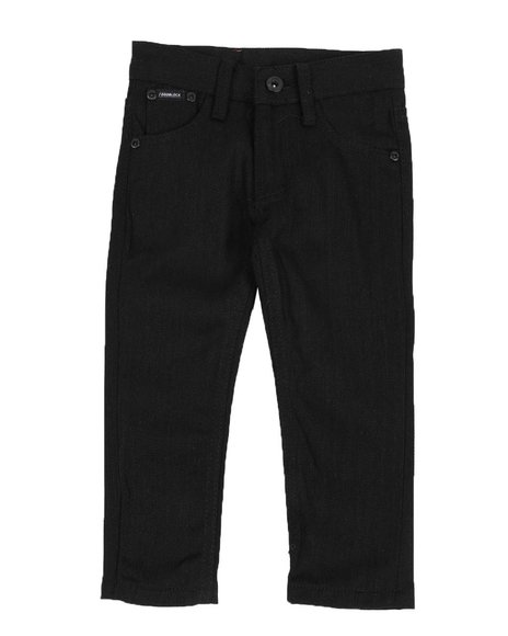 Arcade Styles - Solid Color Bull Denim Jeans (2T-4T)