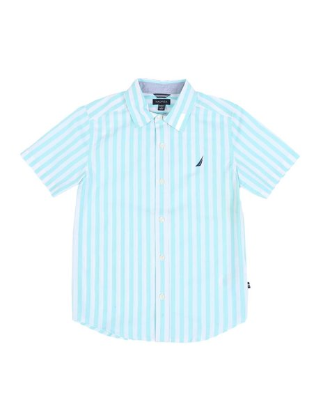 Nautica - Stripe Button Down Shirt (8-20)