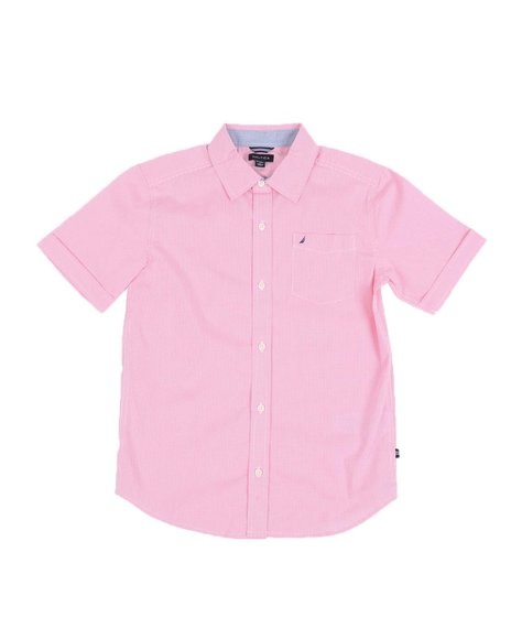 Nautica - 1 Pocket Button Down Shirt (8-20)