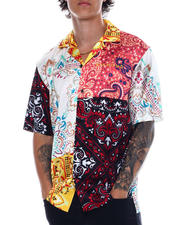 Diamond Supply Co - PAISLEY PATCHWORK WOVEN-2528184