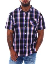 LRG - Head In The Clouds Plaid Woven Shirt (B&T)-2530721