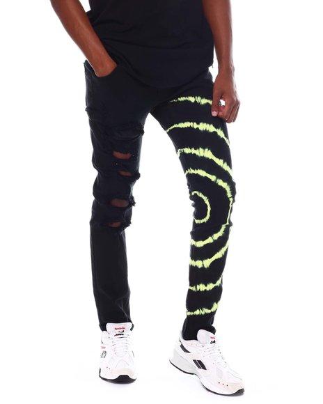 KDNK - Tie Dye Skinny Jeans