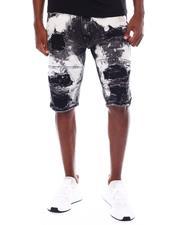 Shorts - SAND SHREDDED  Denim Short-2529961