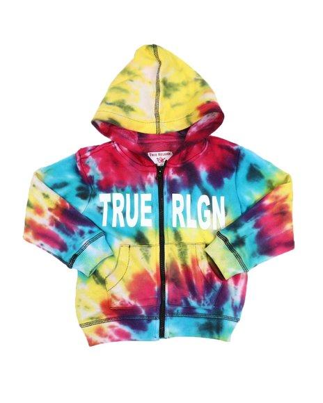 True Religion - Tie Dye Hoodie (2T-4T)