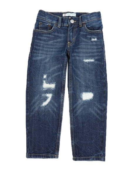 Levi's - 502 Regular Taper Fit Jeans (4-7)