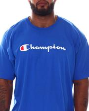 Black Friday Deals - S/S Retro Champion Script Tee (B&T)-2530147