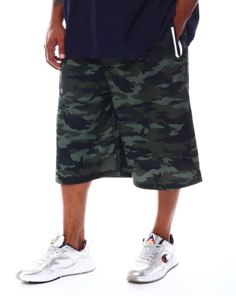 Akademiks - Shifter Solid Tech Shorts (B&T)