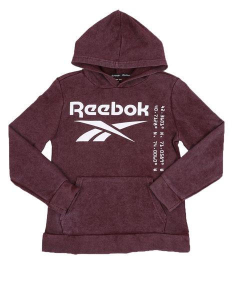 Reebok - Reebok Logo Pullover Hoodie (8-20)