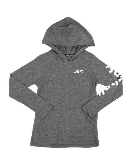 Reebok - Long Sleeve Pullover Hooded Tee (8-20)