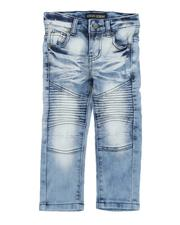 Boys - Stretch Moto Jeans W/ Bleaching (2T-4T)-2529129