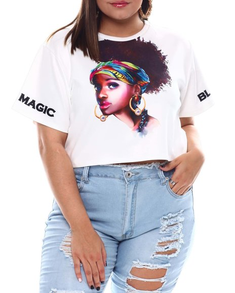 Fashion Lab - Magic Sublimation S/S Crop(Plus)
