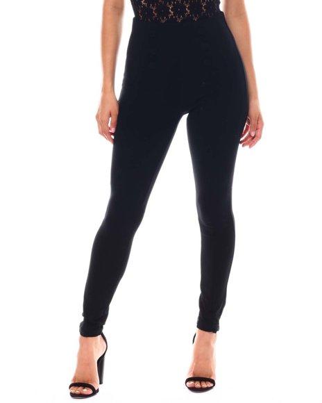 Fashion Lab - Skinny Ponte Sailor Pants