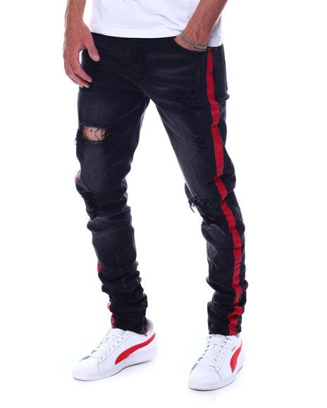 KDNK - Contrast Side Stripe Jeans