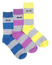 DRJ SOCK SHOP - Le Tigre 3Pk Dress Socks-2531774