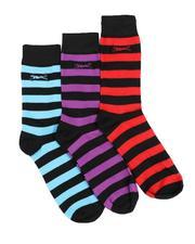 DRJ SOCK SHOP - Le Tigre 3Pk Dress Socks-2531775