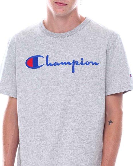 Champion - Embroidered Script Heritage Tee