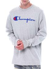 Champion - Embroidered Script Heritage LS Tee-2530760