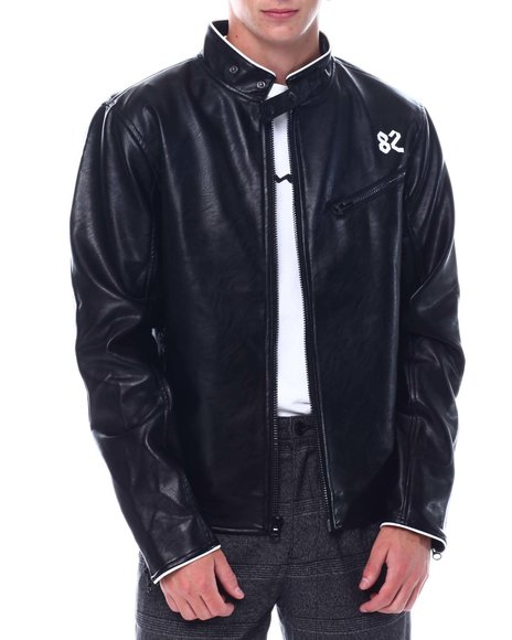 Create 2MRW - BIKER P/U LEATHER JACKET