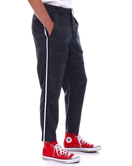Jack & Jones - Plaid Cropped Pant w Stripe