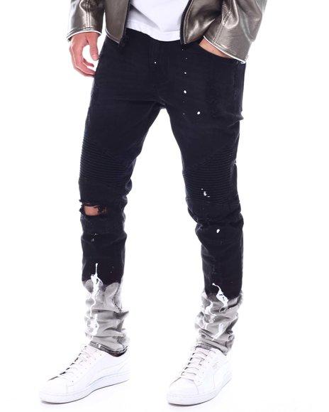KDNK - Paint Splatter Moto Jean