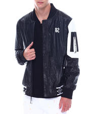 Create 2MRW - NYLON P/U BOMBER JACKET-2530744