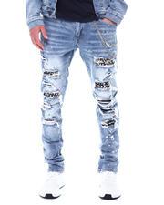 SMOKE RISE - Slim Tapered Rocker Jean-2531303