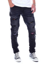 KDNK - Multi Patch Jeans-2531418